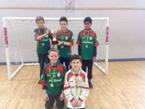 Indoor Soccer league winners