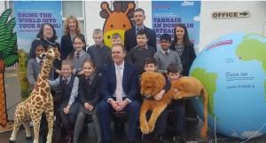 Irish Aid Awards Group photo