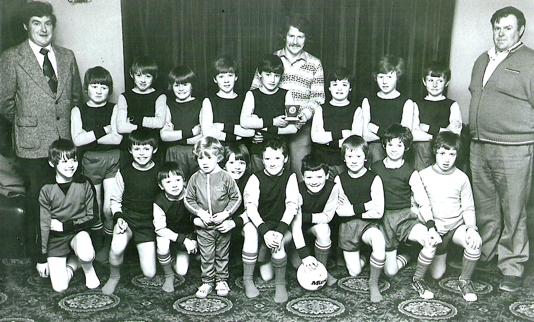 School Soccer Team 79-80