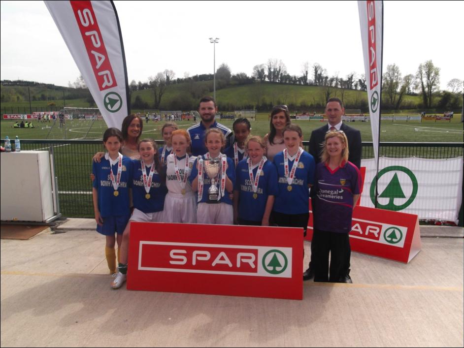 SPAR –FAI –Primary School 5 a-side Ulster Final Winners 2015 in Cootehill Cavan